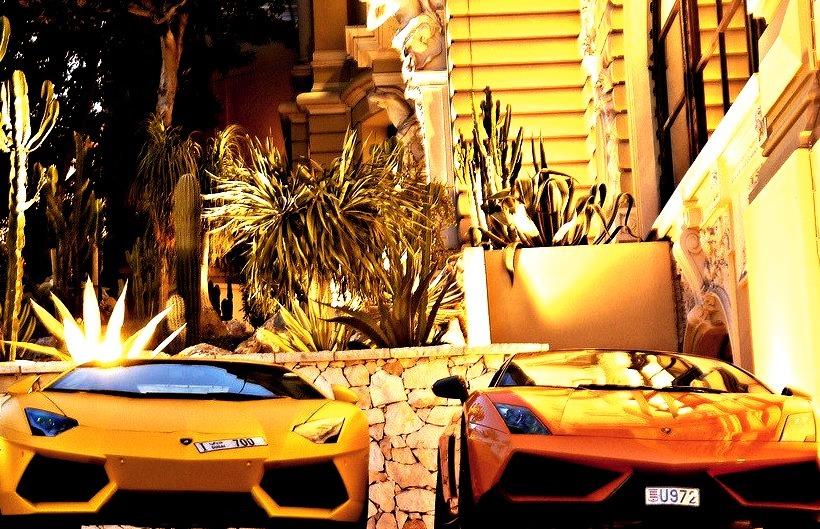 Lamborghini Gallardo and Aventador