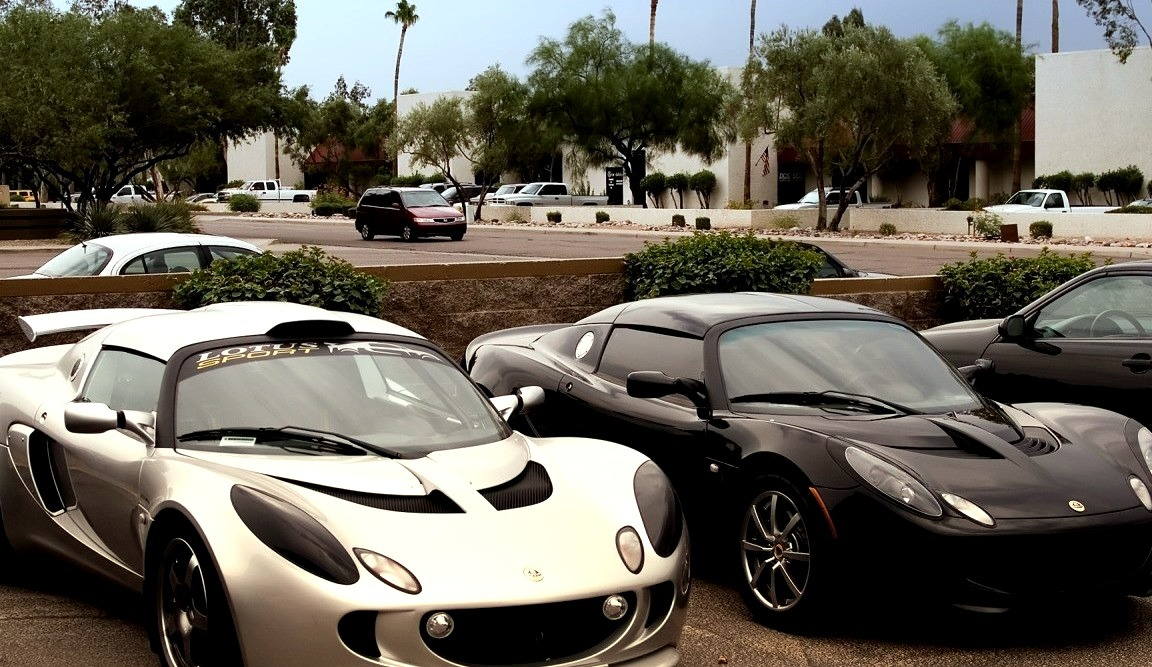 Lotus Exige Cup Car Coupe and Exige