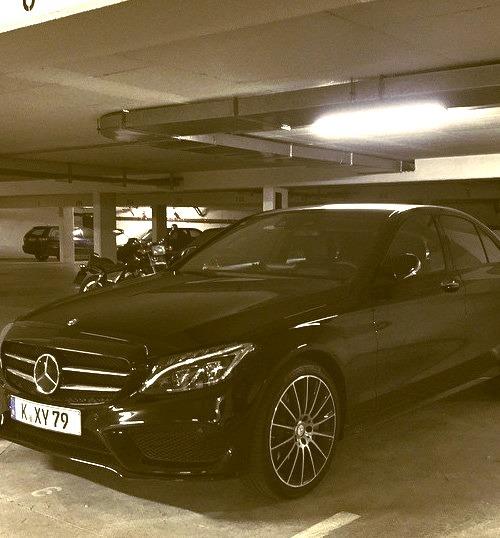 Mercedes-Benz C 250 AMG line (Instagram @der_landgraf)